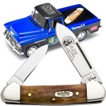 Case Knife & 1955 Chevorlet Truck Set Blue/Black