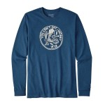 Patagonia Men's Long-Sleeved Can't Eat Money Cotton/Poly Responsibili-Tee®