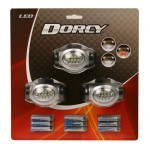 3 AAA 10 LED Headlight 3 Pack