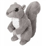 Wild Republic Plush Grey Squirrel