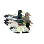 Battleship Mallard, Foam Filled, Flocked Heads (6 pk)