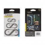 Nite Ize S-Biner Stainless Steel Size #1 2pk
